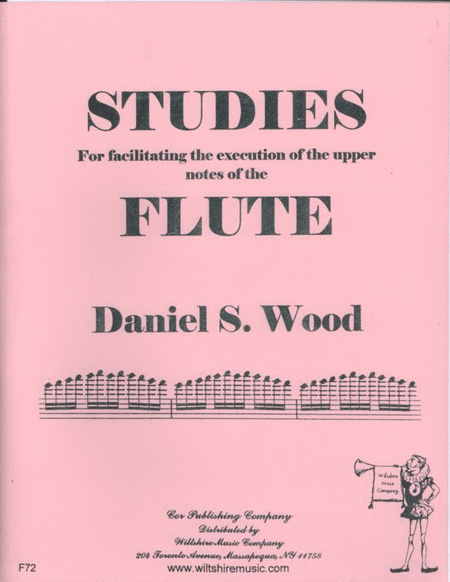 Studies for Facilitating the Execution of the Upper Notes of the Flute