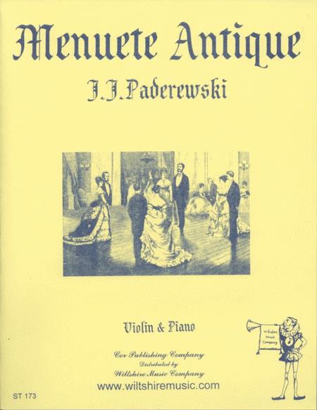 Minuet, Op. 14, #1