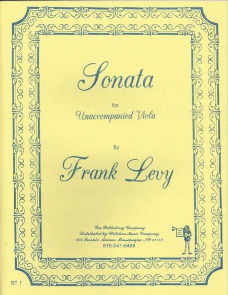 Sonata for Unaccompanied Viola