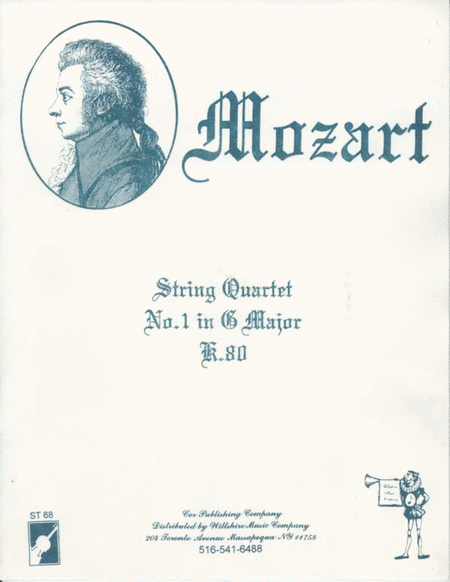 String Quartet #1 in G Major
