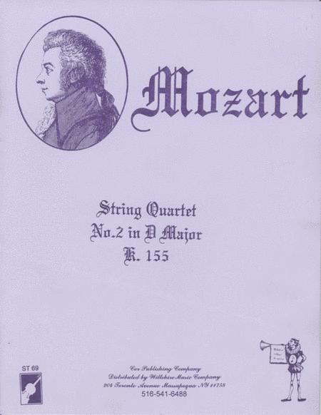 String Quartet #2 in D Major
