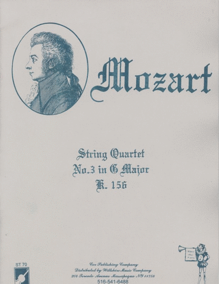 String Quartet #3 in G Major