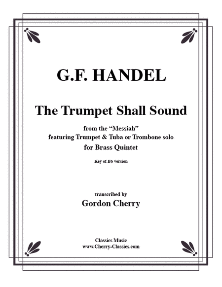 Trumpet Shall Sound in the key of Bb