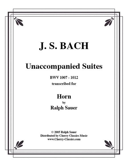 Unaccompanied Suites Horn CD-ROM