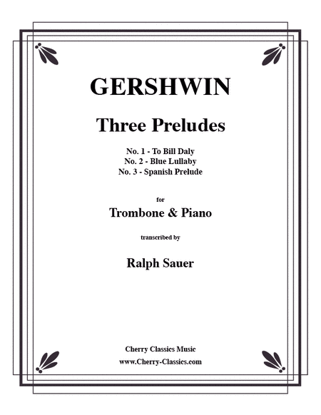 Three Preludes for Trombone & Piano