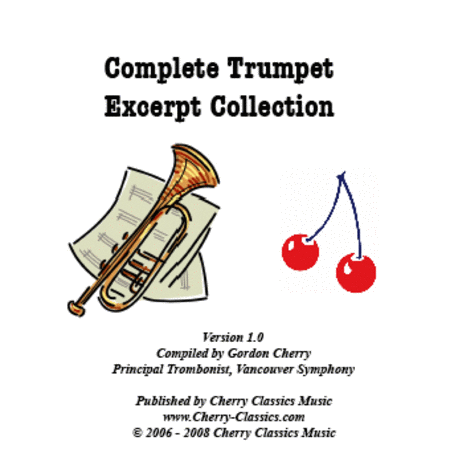 Complete Trumpet Excerpts Collection