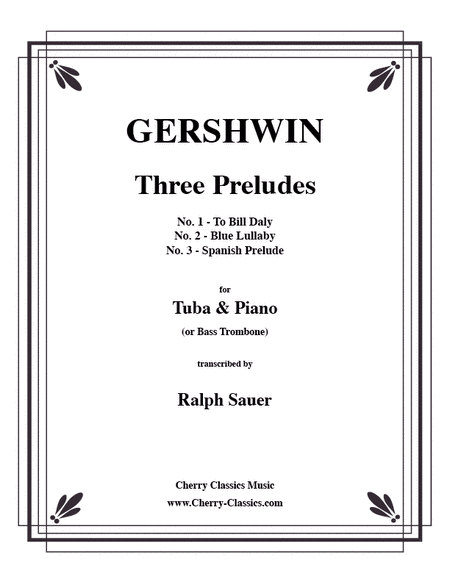 Three Preludes for Tuba or Bass Trombone & Piano