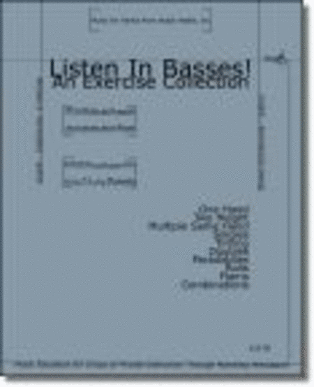 Listen In Basses! Exercise Collection