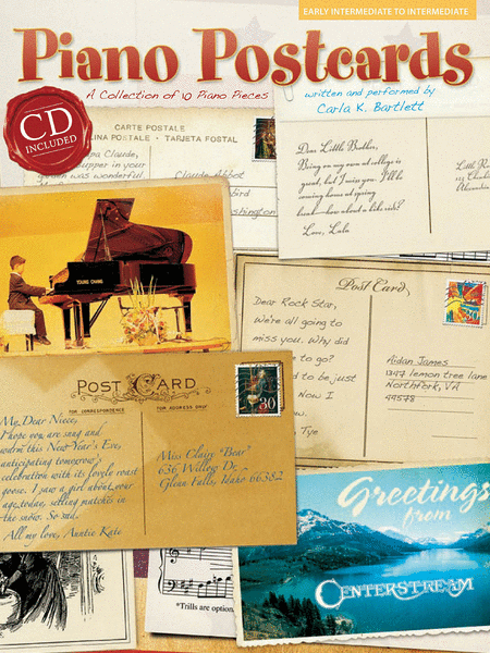 Piano Postcards