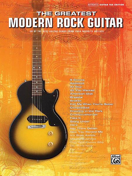 The Greatest Modern Rock Guitar