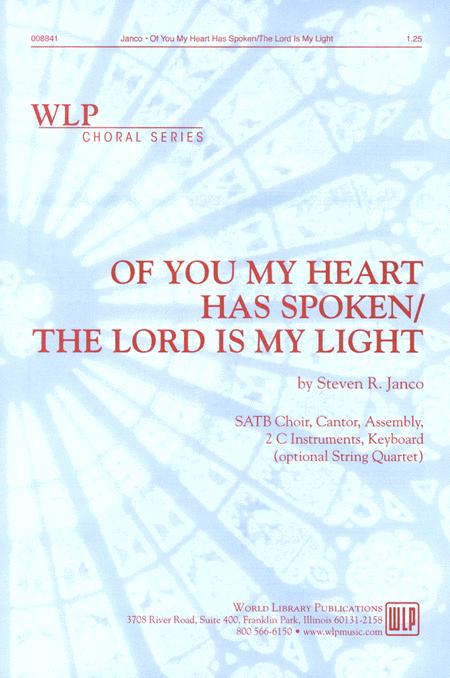 Of You My Heart Has Spoken