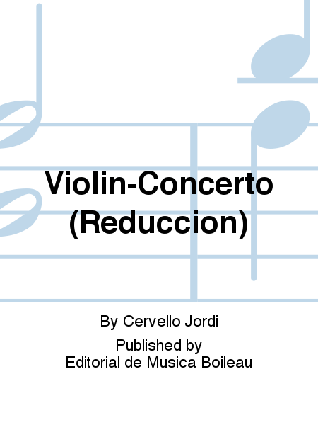 Violin-Concerto (Reduccion)
