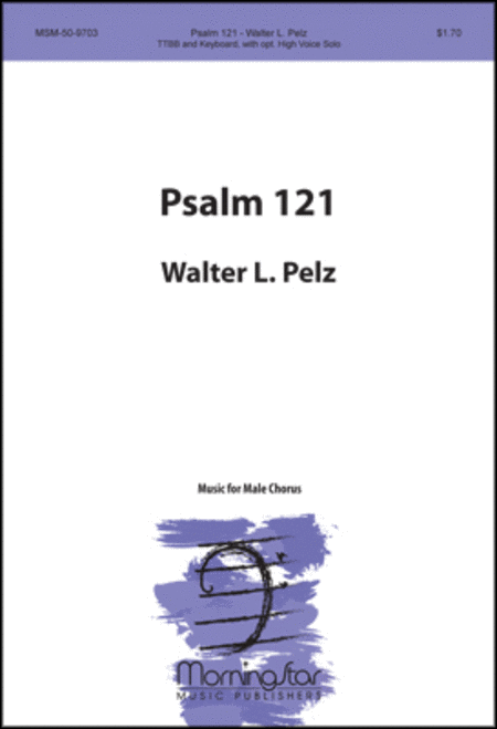 Psalm 121 (TTB/TBB/TTBB Voices)