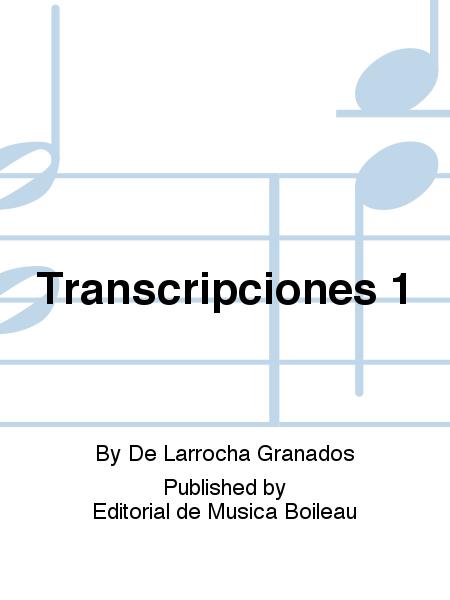 Transcripciones 1