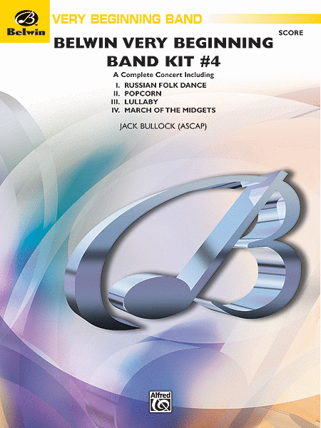 Belwin Very Beginning Band Kit #4 (Score only)