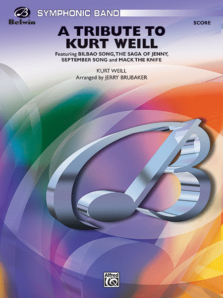 A Tribute to Kurt Weill (Score only)