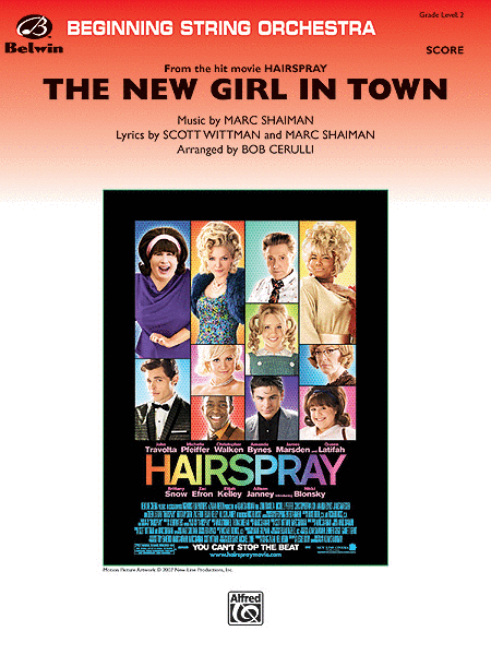 The New Girl in Town (from Hairspray) (Score only)
