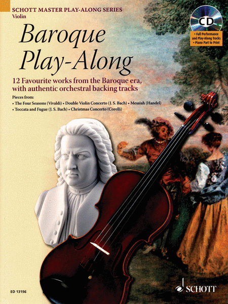 Baroque Play-Along for Violin