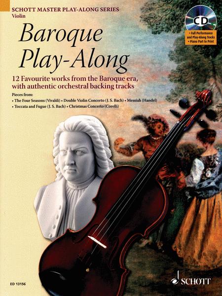 Baroque Play-Along for Violin