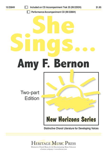 She Sings...