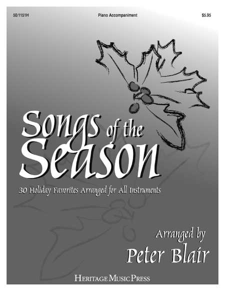 Songs of the Season - Piano Accompaniment