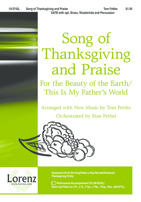 Song of Thanksgiving and Praise