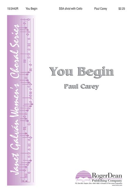 You Begin