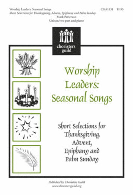Worship Leaders: Seasonal Songs