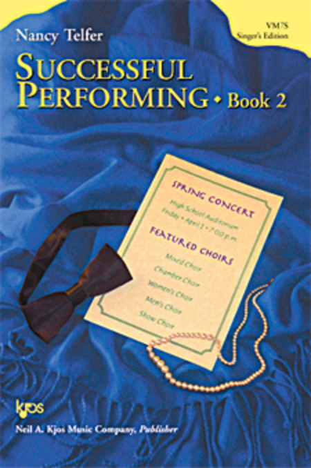 Successful Performing, Book 2 - Singer's Edition