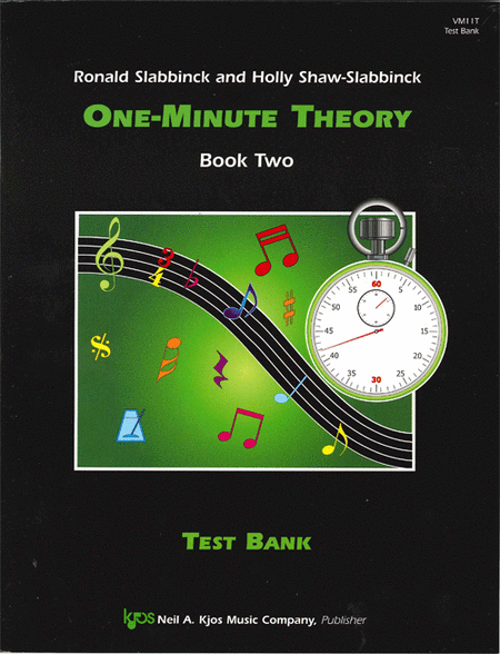 One-Minute Theory, Book 2 - Test Bank