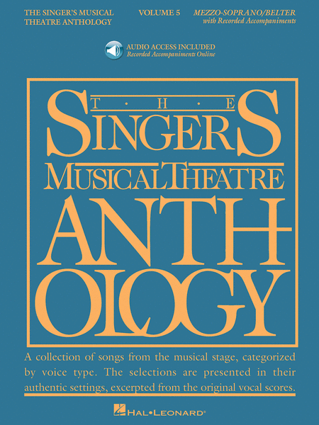 The Singer's Musical Theatre Anthology - Volume 5 - Mezzo-Soprano
