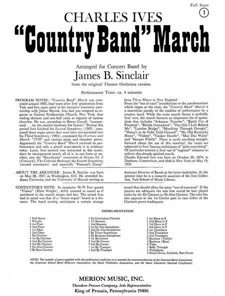 Country Band March