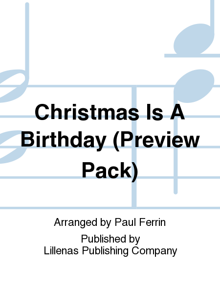 Christmas Is A Birthday (Preview Pack)