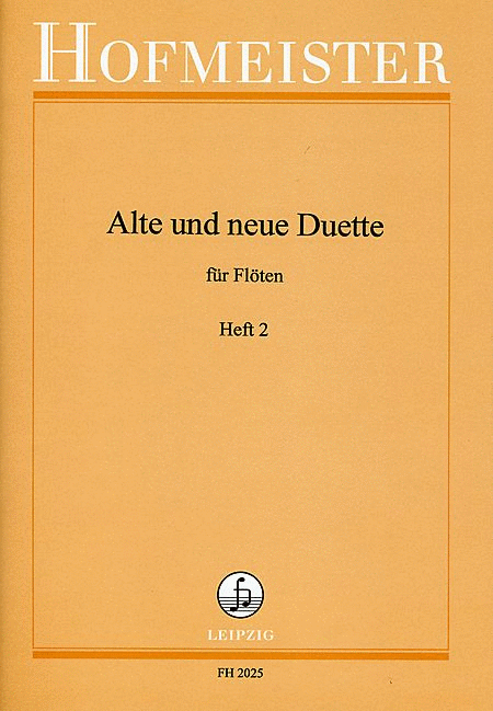 alte und neue duette heft 2 sheet music by list sheet music plus. Black Bedroom Furniture Sets. Home Design Ideas