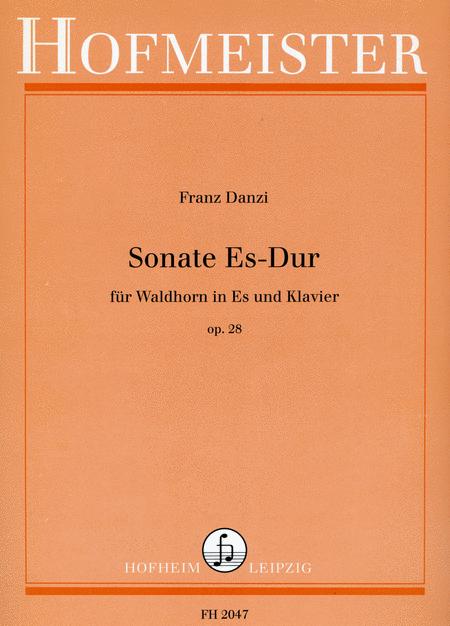 Sonate Es-Dur, op. 28
