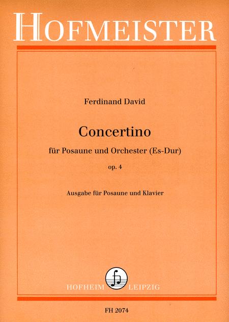 Concertino Es-Dur fur Posaune und Orchester op. 4 / KlA