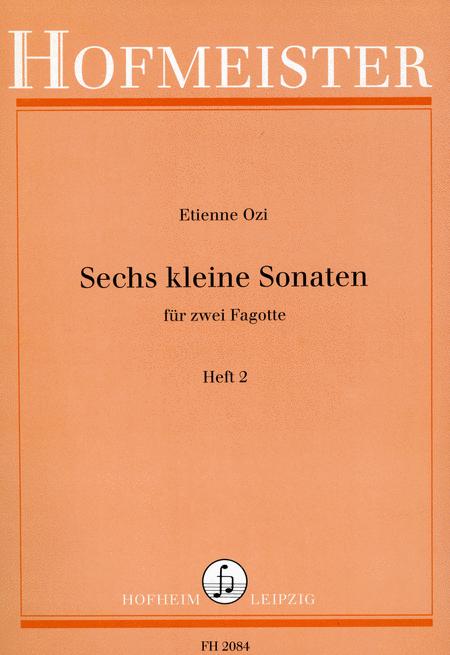 Sechs kleine Sonaten, Heft 2