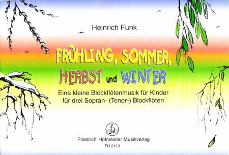 fruhling sommer herbst und winter sheet music by heinrich funk sheet music plus. Black Bedroom Furniture Sets. Home Design Ideas