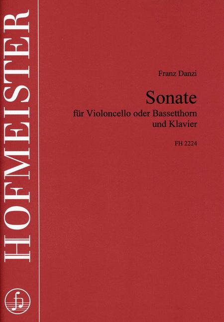 Sonate fur Violoncello oder Bassethorn und Klavier