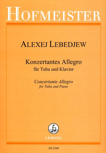 Konzertantes Allegro