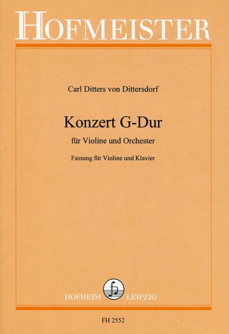 Konzert G-Dur /KlA
