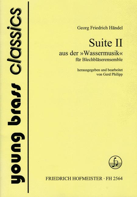 Wassermusik, Suite II (HWV 349)