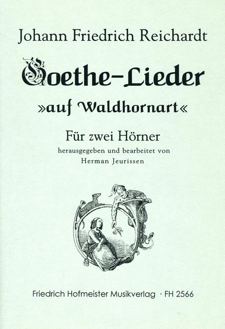 Goethe-Lieder auf