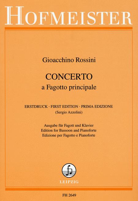 Konzert fur Fagott und Orchester / KlA