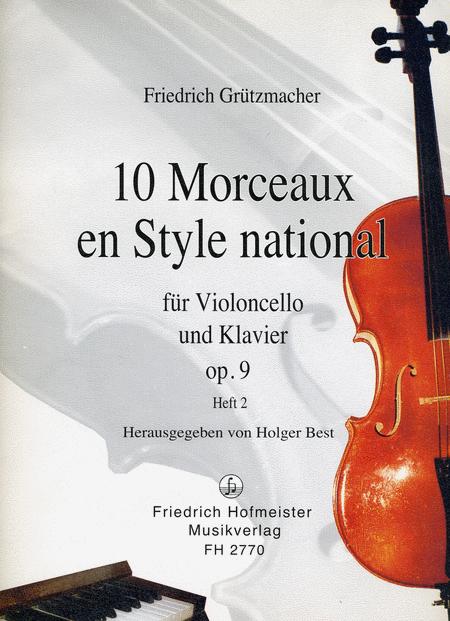 10 Morceaux en Style national, op. 9, Teil 2
