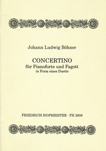 Concertino in Form eines Duetts, op. 132