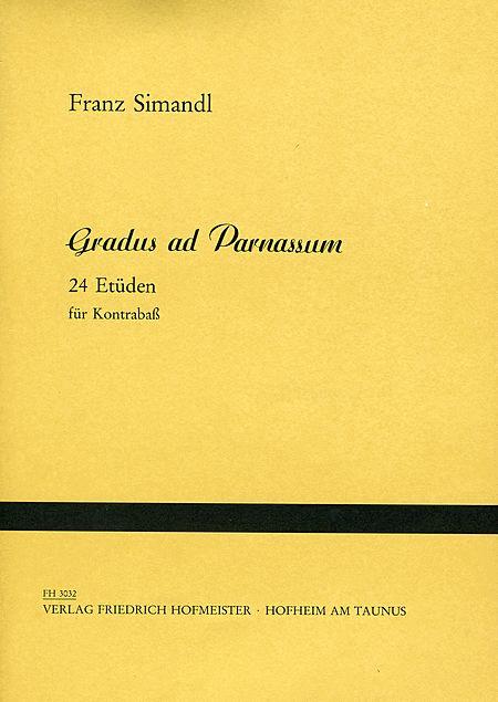 Gradus ad Parnassum. 24 Etuden