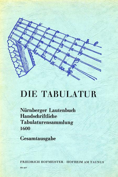 Nurnberger Lautenbuch, Gesamtausgabe