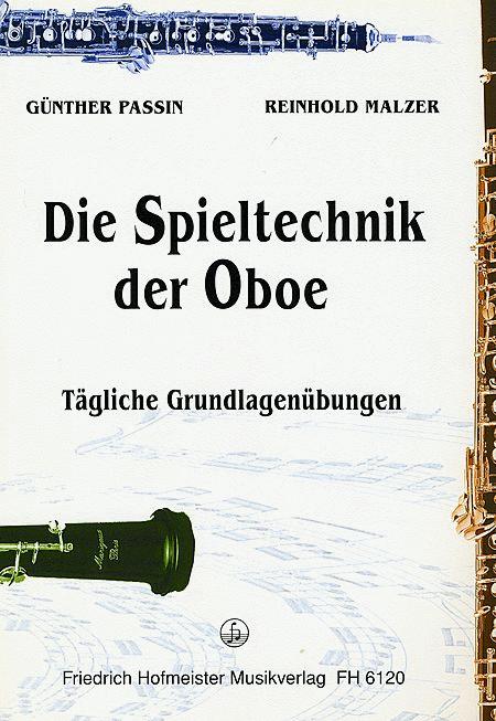Spieltechnik der Oboe. Taglcihe Grundlagenubungen