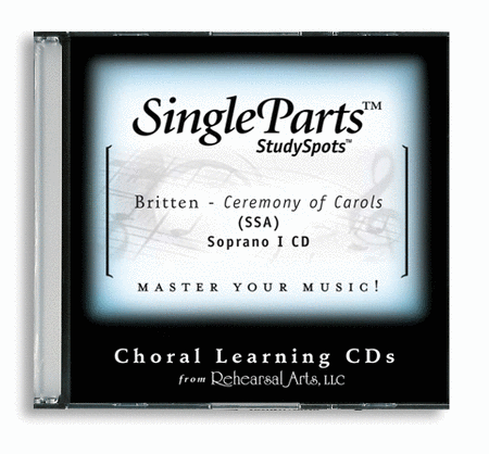 A Ceremony of Carols - SSA (CD only - no sheet music)